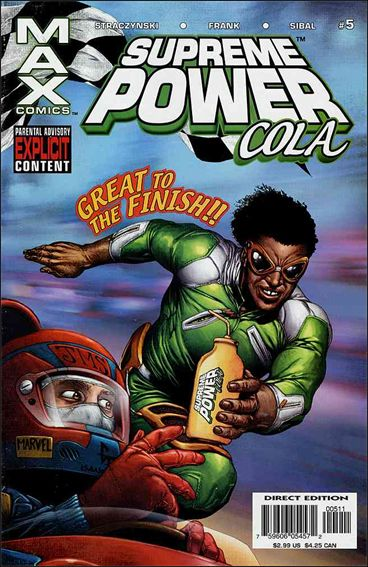 Supreme Power (2003) 5-A by Max