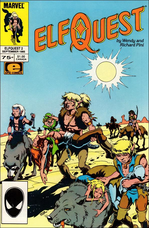 Elfquest (1985) 2-A by Epic