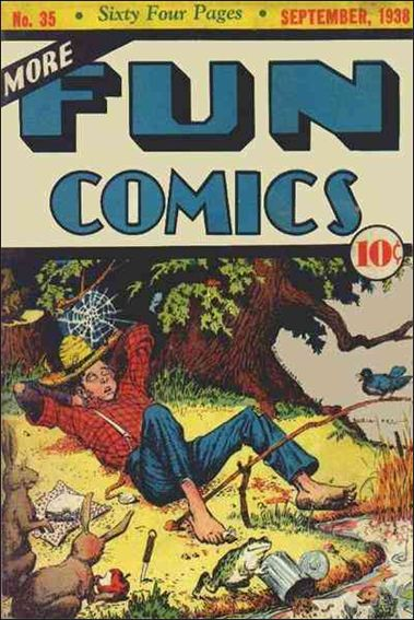 More Fun Comics 35-A by DC