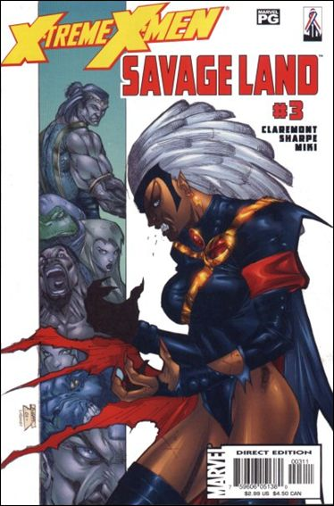 X-Treme X-Men: Savage Land 3-A by Marvel