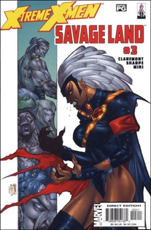X-Treme X-Men: Savage Land 3-A