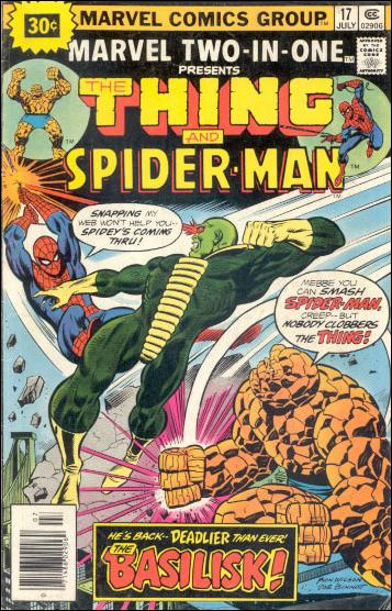 Marvel Two-in-One (1974) 17-B by Marvel