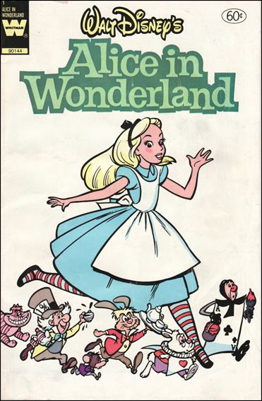 Walt Disney's Alice in Wonderland 1-B by Gold Key