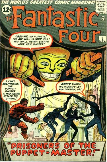 Fantastic Four (1961) 8-A by Marvel