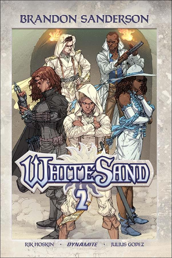White Sand 2-A by Dynamite Entertainment