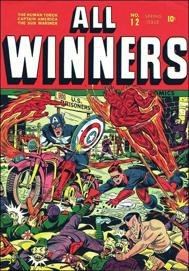 All-Winners Comics (1941) 12-A by Marvel