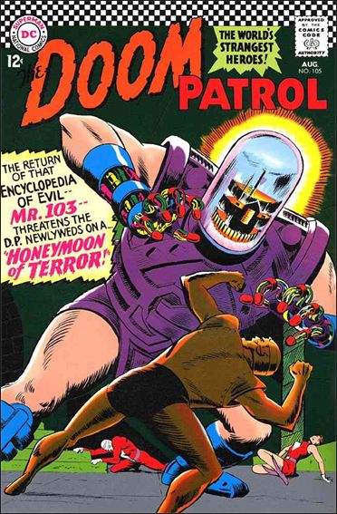Doom Patrol (1964) 105-A by DC