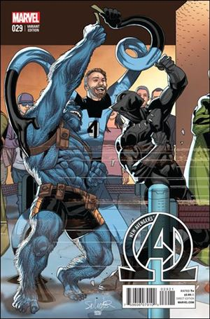 New Avengers (2013) 29-B