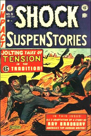 Shock SuspenStories (1952) 9-A by E.C.