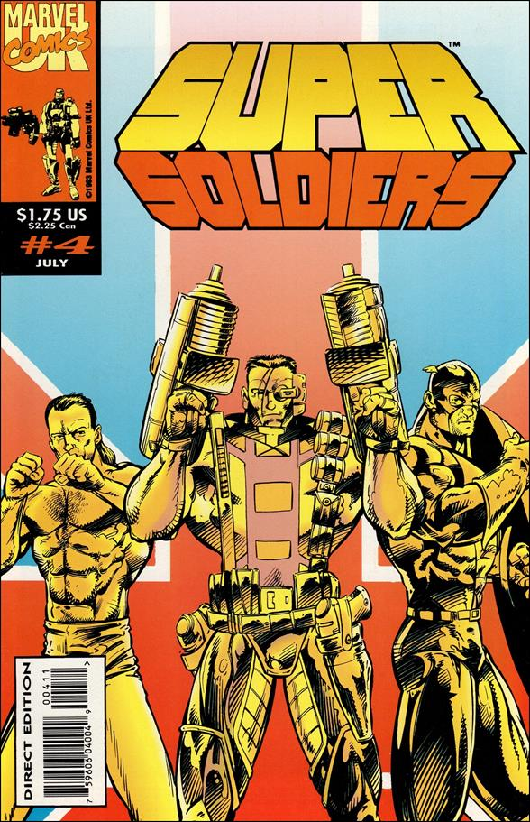 Super Soldiers (UK) 4-A by Marvel UK