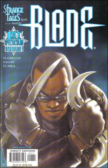Blade (1998) 1-A by Marvel