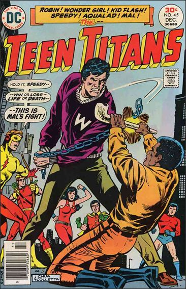 Teen Titans (1966) 45-A by DC