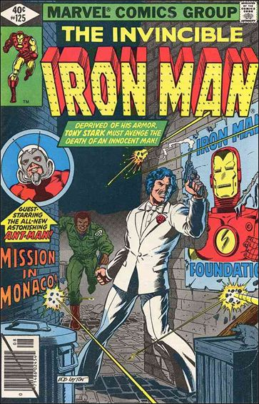 Iron Man (1968) 125-A by Marvel
