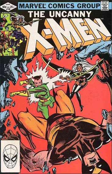 Uncanny X-Men (1981) 158-A by Marvel
