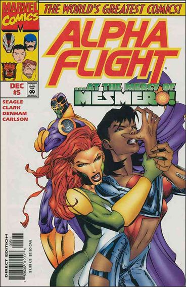 Alpha Flight (1997) 5-A by Marvel