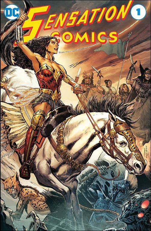 Sensation Comics (1942) 1-B by DC