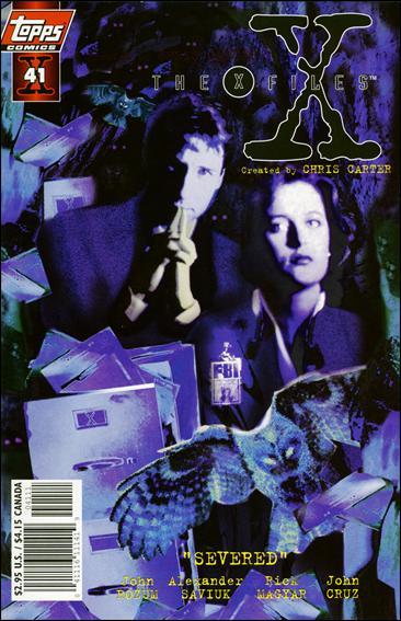 X-Files (1995) 41-B by Topps