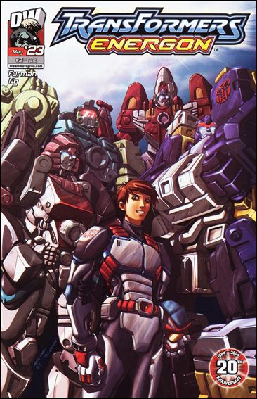 Transformers: Energon (2004) 23-A by Dreamwave