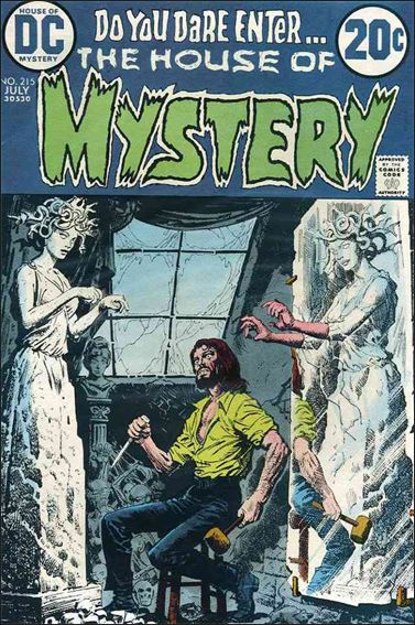 House of Mystery (1951) 215-A by DC