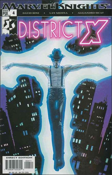 District X 4-A by Marvel