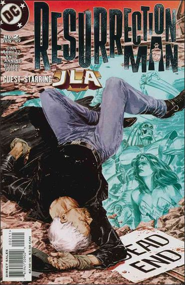 Resurrection Man (1997) 2-A by DC