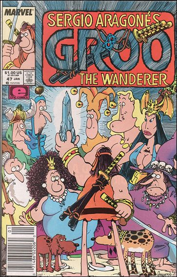 Sergio Aragones Groo the Wanderer 47-A by Epic