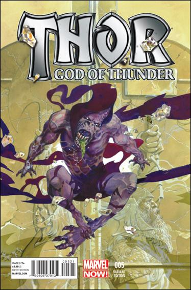Thor: God of Thunder 5-B by Marvel
