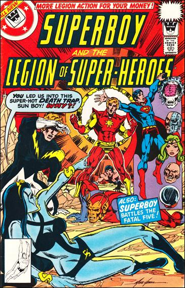 Superboy and the Legion of Super-Heroes 246-B by DC