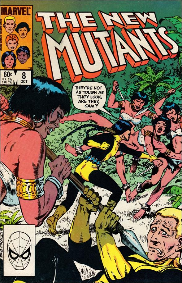 New Mutants (1983) 8-A by Marvel
