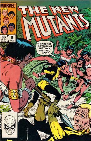 New Mutants (1983) 8-A