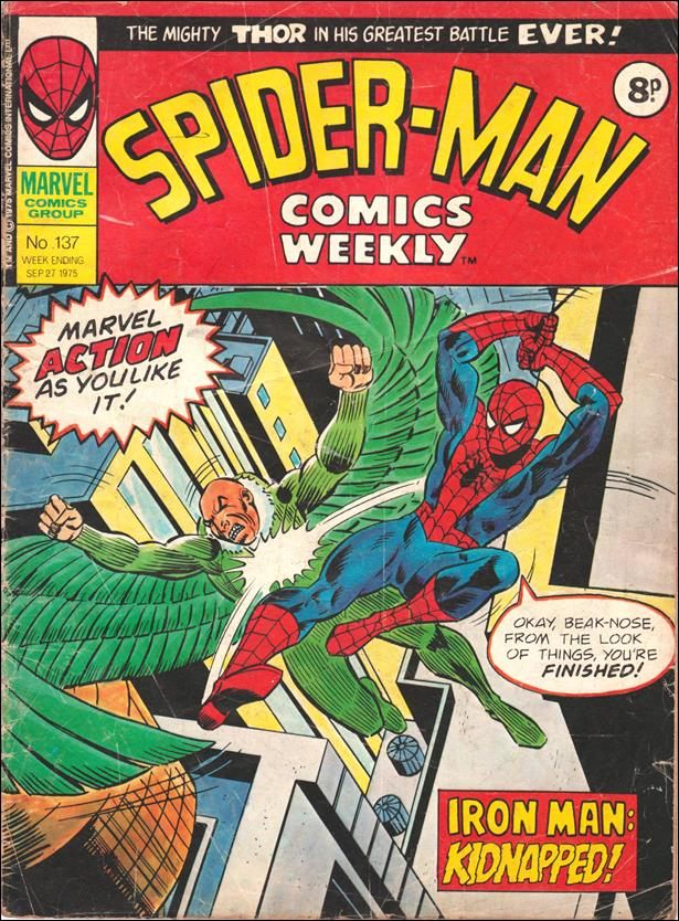 Spider-Man: Comics Weekly (UK) 137-A by Marvel UK