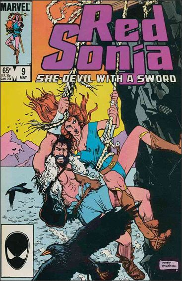 Red Sonja (1983/08) 9-A by Marvel