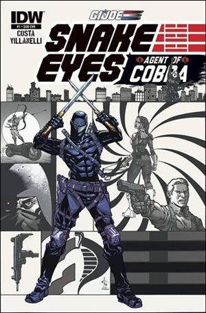 G.I. Joe: Snake Eyes, Agent of Cobra 1-B