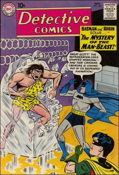 Detective Comics (1937) 285-A by DC