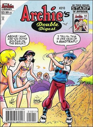 Archie's Double Digest Magazine 210-A by Archie