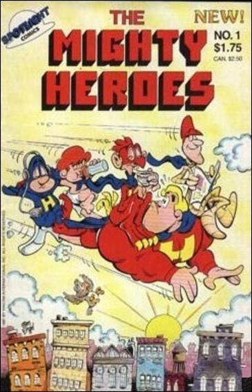 Mighty Heroes (1987) 1-A by Spotlight