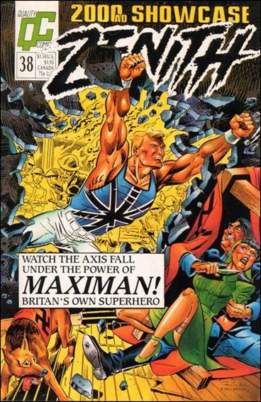 2000 A.D. Showcase (1988) 38-A by Quality Comics