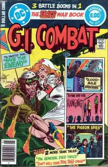 G.I. Combat (1952) 217-A by DC