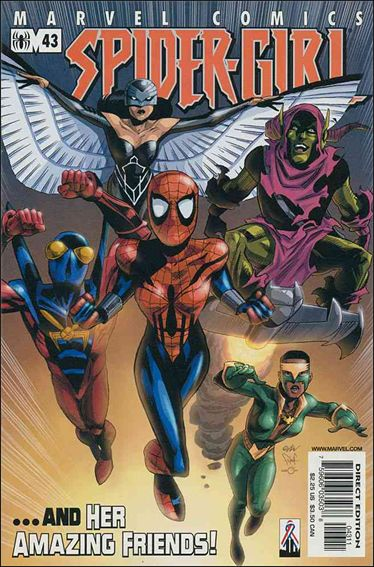 Spider-Girl (1998) 43-A by Marvel