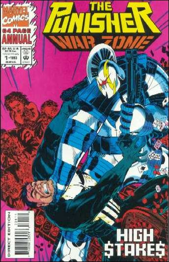 Punisher: War Zone Annual 1-B by Marvel