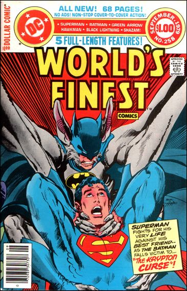 World's Finest Comics 258-A by DC