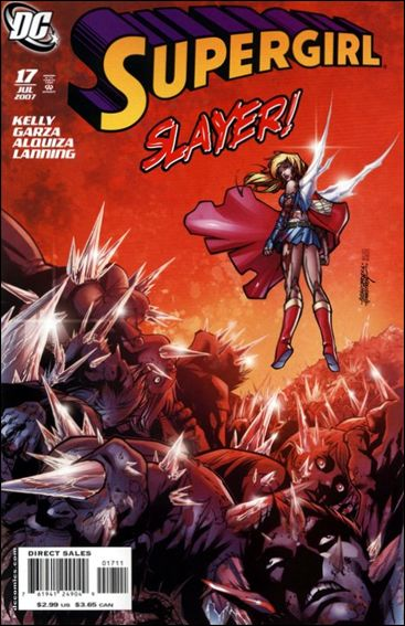 Supergirl (2005) 17-A by DC