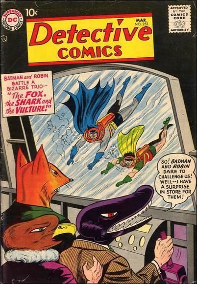Detective Comics (1937) 253-A by DC