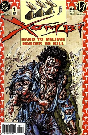 Xombi (1994) 1-A by Milestone