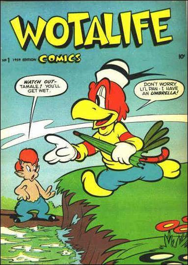 Wotalife Comics 1-B by Fox