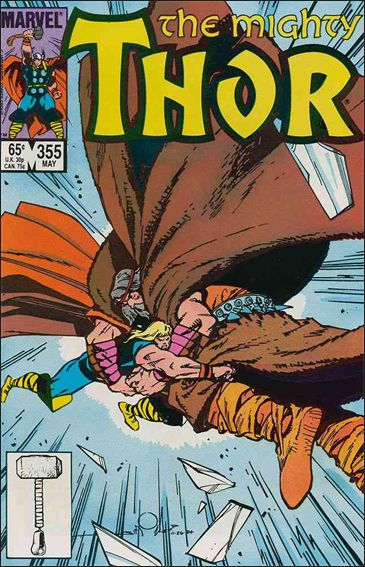 Thor (1966) 355-A by Marvel