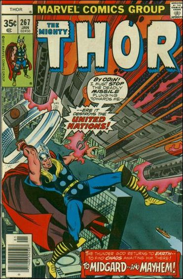 Thor (1966) 267-A by Marvel