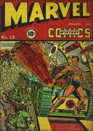 Marvel Mystery Comics (1939) 15-A