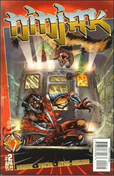 Ninjak (1997) 2-A by Acclaim