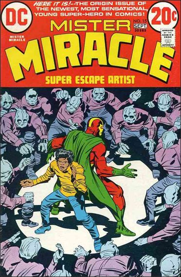 Mister Miracle (1971) 15-A by DC
